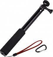Hama 7004299 Bastone Asta Supporto per Gopro Action Cam Metallo Nero  Selfie 90