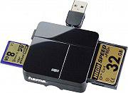 Hama 7094124 Card Reader Lettore di schede di memoria USB 2.0 colore Nero - 00094124