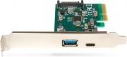 Hamlet HUSB312TCPCX Scheda PCI Express LOW P USB TYPE C TYPE A HOST CARD BUS