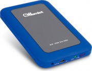 Hamlet HXD25U3MBL Box Case Esterno per Hard Disk 2.5 USB 3.0 colore Blu