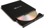 Hamlet XDVDSLIMK Masterizzatore Esterno Slim DVD-RRW CD-RRW colore Nero