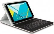 Hamlet XPADCV101KBT2 Tastiera Wireless Bluetooth Colore Nero