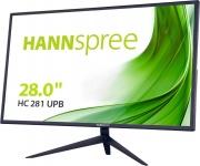 "Hannspree HC281UPB Monitor PC 28"" 3840 x 2160 Pixel 4K Ultra HD Nero"