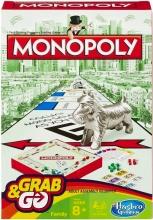 Hasbro B1002103 Travel Monopoly Giochi di Società