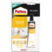 Pattex Silicone acetico Trasparente Sigillante Universale Tubo 60 ml - 1509342