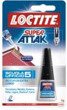 Loctite 862097 Adesivo istantaneo liquido Universaler Super Attak Scuola 5 gr.