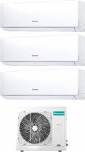 Hisense DJ252535VE0AG + 3AMW62U4RFA Climatizzatore Trial Split Inverter 9+9+12 Btu 3AMW62U4RFA New Comfort