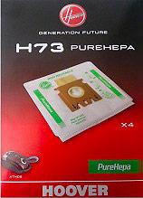 Hoover 35601375 Confezione 4 sacchetti aspirapolvere Athos Sacco PureHepa H73