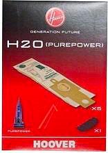 Hoover 9173717 Confezione 5 sacchetti Carta H20