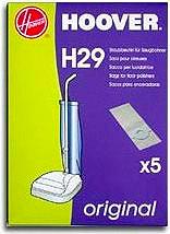 Hoover H29 Confezioni Sacchi per Lucidatrice F27XX-F38XX Conf. 5 sacchi