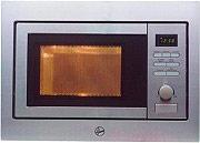 Hoover HMF 250 X Forno Microonde Incasso Combinato Grill 25 Lt 900W Luce Acciaio