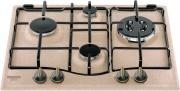 Hotpoint Ariston PCN 640 T (AV) R HA Piano cottura 4 Fuochi incasso a gas 60 cm Avena PCN 640 T R