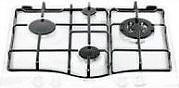 Hotpoint Ariston Kit Griglie in ghisa per piano cottura Modello PC 640 T col Nero 81370
