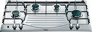 Hotpoint Ariston Piano cottura 4 Fuochi incasso a gas 90 cm Inox PH 940MS (IX)