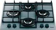 Hotpoint Ariston TQ 640 S (ICE) GHHA Piano cottura 4 Fuochi incasso gas 60 cm Cristallo TQ640SICEGH