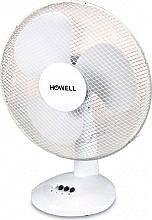 HOWELL Ventilatore da Tavolo a Pale ø 40 cm Oscillante 3 Velocità - VET431MQ