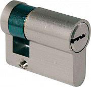 Ibfm 2303CS Mezzo cilindro sagomato con chiave europea in ottone 40x30x10 mm