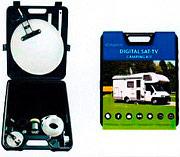 Idsat Kit Camp.311.500 Antenna TV Satellitare Parabolica Kit Camper