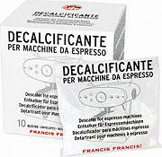 ILLY DECALCIFICANTE per Macchine da Caffè espresso Confezione da 10 Bustine