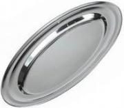 ILSA 1100025 Vassoio da portata ovale con bordo cm 25