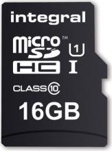 INTEGRAL INMSDH16G10-90U1 Micro SD Capacità 16 Gb