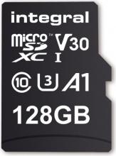 INTEGRAL INMSDX128G-100V30 Micro SD Capacità 128 Gb