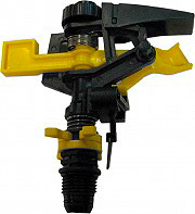 IRRIGO 360127 Irrigatore automatico a settori innaffiatore giardino
