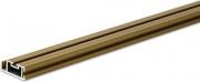 IRS 1026172500 Profilo Altezza 250 cm per Zanzariera Modello Clarissa Marrone