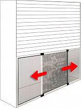 IRS ZF10309007019 Zanzariera finestra Estensibile cm. 90x70172x70 Argento