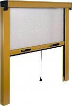 IRS ZV06108017062 Zanzariera rullo verticale finestra cm. 80x170 Bronzo