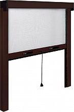 IRS ZV06110017017 Zanzariera a rullo finestra verticale cm 100x170 Marrone