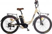 I-BIKE CITY EASY Bicicletta elettrica E-bike Bici elettrica 200 W 20 km Crema