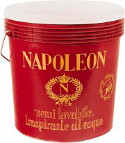 Icorip 900.NSL.3 Pittura per interni Traspirante Semilavabile Bianco 2.5 litri Napoleon
