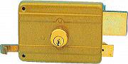 Icsa Serrature 21050DCF Serratura Cancello Cilindro fisso 100x88 Entrata 50 mm 210