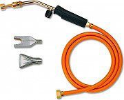 Idealgas FKSF109 Kit per Saldatura a Gas 3 Bruciatori Intercambiabili tubo PVC