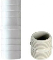 Idro Bric 20390 Coppia giunzioni per tubi carico e scarico lavatrice 0