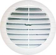 Idro Bric SP0044GR Griglia aerazione d. 19 cm con molle bianca