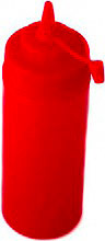 ILSA 1285R36 Flacone dosatore con tappo 360 ml Rosso Plastica per alimenti