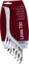 ILSA 704024 Molla Spaghetti 24 cm 700 Acciaio Inox 1810 0