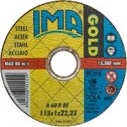 Ima 1151022F2TM Minidisco per Ferro Gold Piano ø 115x1x22 Pezzi 50
