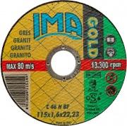 Ima 1151622G2TM Minidisco per Ceram. Gold Piano 115x1,6x22 Pezzi 50