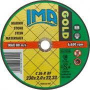 Ima 2302022M2TM Disco Per Marmo Gold ø 230x2x22 Pezzi 50