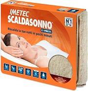 Imetec 16284 Scaldasonno Scaldaletto Singolo Lana 150x80 cm Express