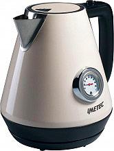 Imetec 7449 Bollitore elettrico acqua 1.7Lt 2200W Termostato regolabile  KT 100