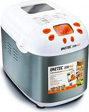 Imetec Macchina pane Potenza 920 watt colore Grigio Bianco - 7815 Zero Glu