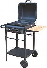 Imperial Barbecue Gas da Giardino Griglia cromata con Coperchio ER8203N