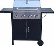 Imperial Barbecue Gas da Giardino con Fornello Piastra in Ghisa K-C3 - 4B+SB