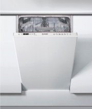 Indesit DSIC 3M19 Lavastoviglie Incasso Slim 45 cm 10 Coperti A+ Scomparsa totale