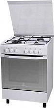 Indesit Cucina a Gas 4 Fuochi Forno Elettrico Ventilato 60x60 cm I6TMH2AF(W)I