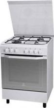 Indesit I6TMH2AF(W)I Cucina a Gas 4 Fuochi Forno Elettrico Ventilato 60x60 cm